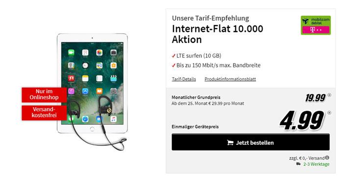 Apple iPad (2017) + Telekom Datenflat 10.000