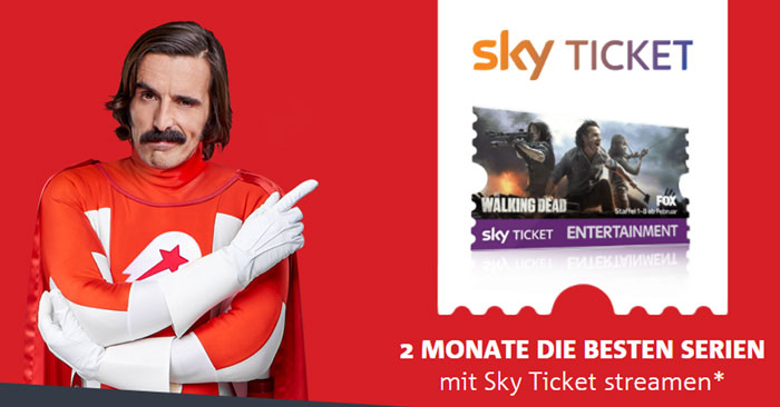 Lieferheld Sky Ticket Aktion