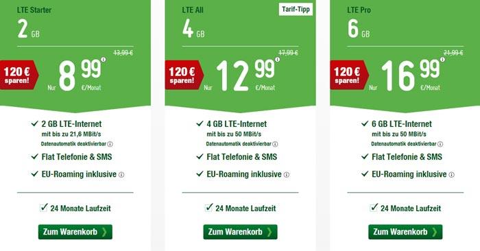 Smartmobil LTE Special Tarife