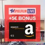 3 Monate TV Spielfilm LIVE (TV-Streaming) für 4,98€ + 5€ Amazon Gutschein [Black Week]