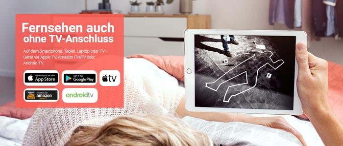 Geräte & Apps TV Spielfilm Live