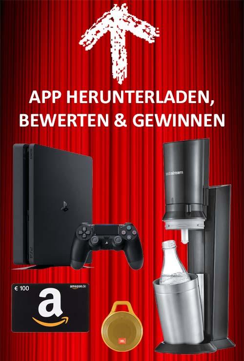 Shoppingvorteil Schnäppchen App Gewinnspiel Sidebar
