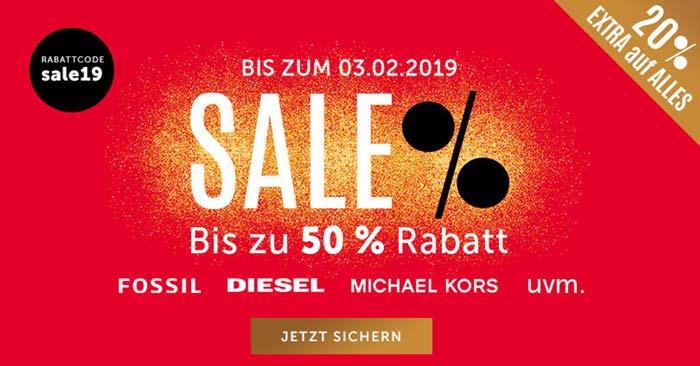 Christ Sale + 20% Gutschein