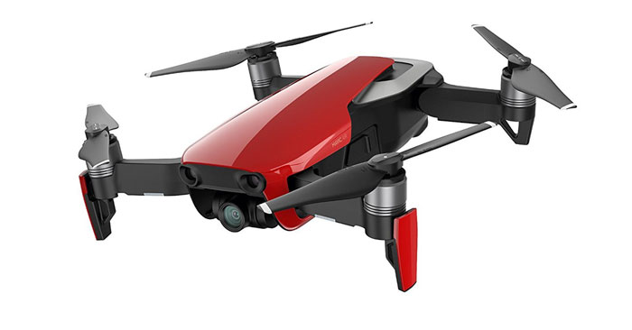 DJI Mavic Air Drohne rot