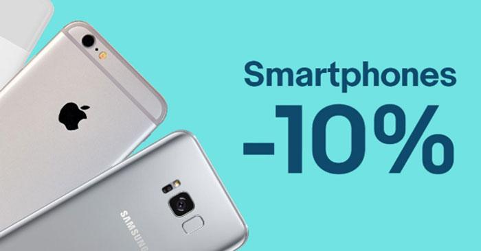 10% Gutschein auf Smartphones