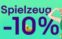 10% Gutschein auf Spielzeug bei eBay