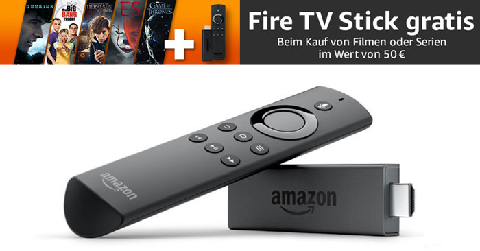Gratis Amazon Fire TV Stick