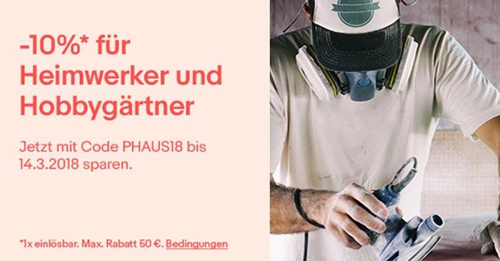 eBay Heimwerker Gutschein