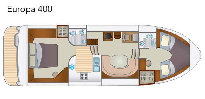 Hausboot Europa 400