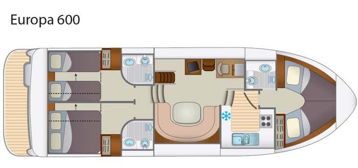 Hausboot Europa 600