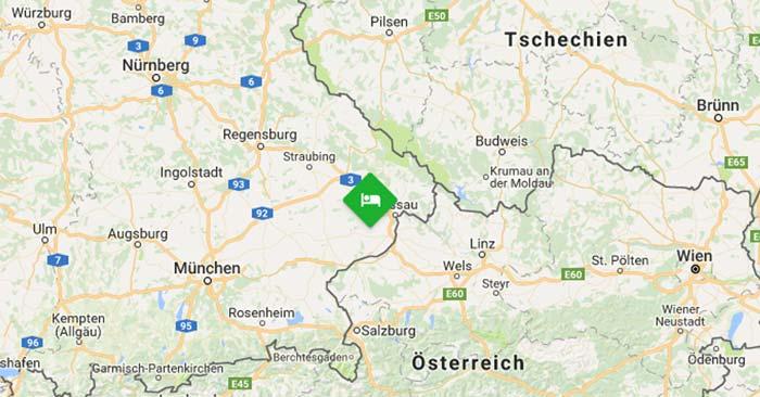 Fürstenhof Bad Griesbach Lage
