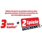 Media Markt 5 für 3 Spiele Aktion: 3 Spiele kaufen + 2 geschenkt