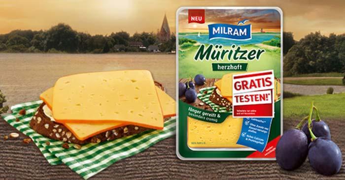 Milram Müritzer herzhaft gratis testen
