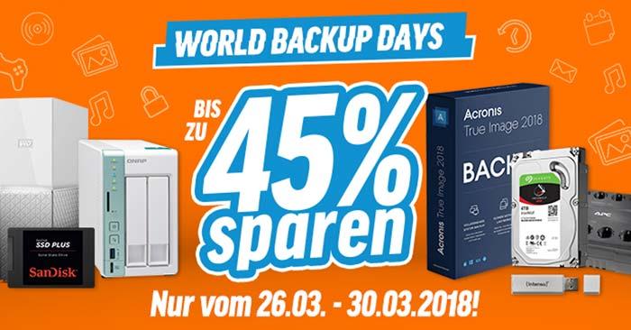 Notebooksbilliger World Backup Days