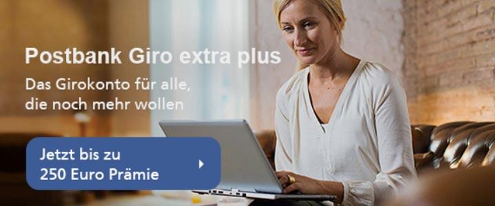 Postbank Giro Extra Plus Konto