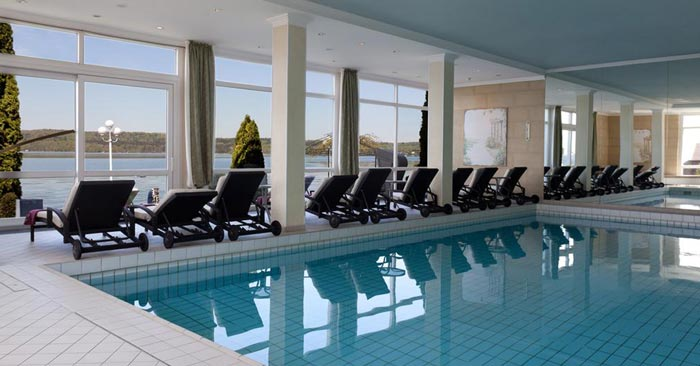 Seehotel Leoni Schwimmbad