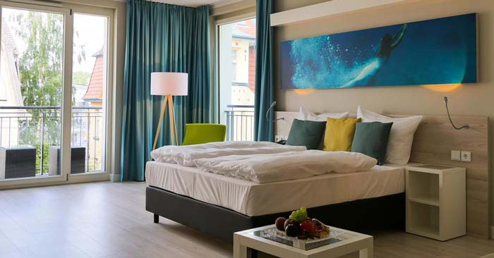 SEETELHOTEL Kaiserstrand Beachhotel Zimmer