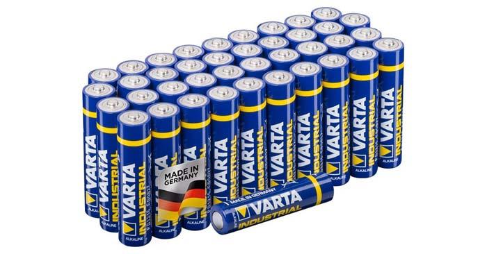 Varta Micro Batterien AAA