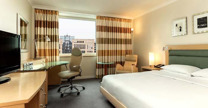 Hilton Hotel Düsseldorf Zimmer