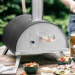 Burnhard Outdoor Pizzaofen Nero (für den Garten/Outdoor) für 219€