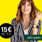Galeria Kaufhof 6 Tage Rennen + 15€ Gutschein ab 75€ Bestellwert
