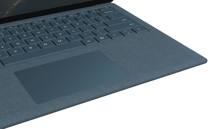 Mircosoft Surface Laptop Filz-Tastatur