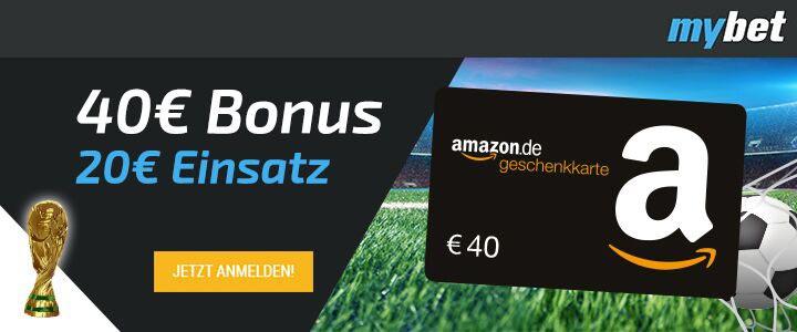myBet Amazon Gutschein Aktion