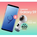 Samsung Sparpril: Samsung Galaxy S9 + Gear 360