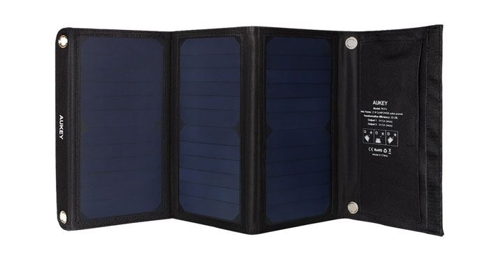 Aukey Solar Ladegerät