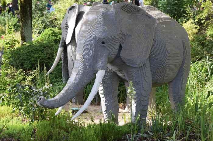 Billund Lego-Elefant