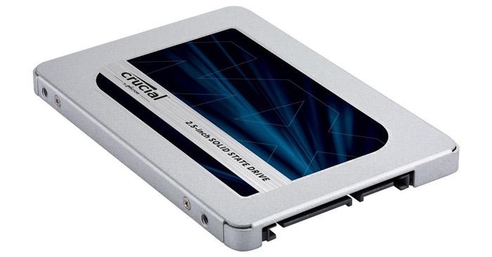 Crucial MX500 SSD Festplatte