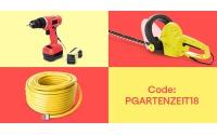 eBay Rabatt Aktion: Gutschein auf Heimwerker, Garten & Terrasse