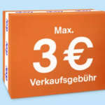 eBay Verkaufsprovision Aktion: Maximal 3€ Provision auf Auktionen & Sofort-Kaufen