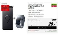 Samsung Galaxy S9 + Gear Fit 2 + Telekom Comfort Allnet Tarif (Media Markt)