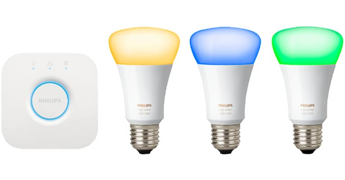 Philips Hue E27 White & Color Starter Set