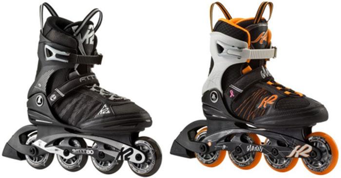 K2 Fit 80 oder K2 Alexis 80 Inline Skates