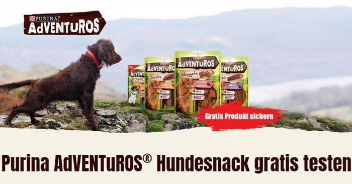 Purina AdVENTuROS Hundesnack gratis