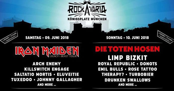 Rockavaria Festival Tickets