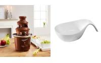 Schokobrunnnen für Schokoladen-Fondue