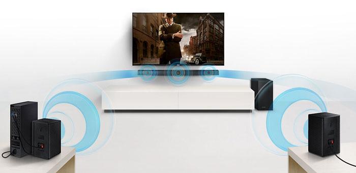 Samsung HW-M360 + weitere Lautsprecher