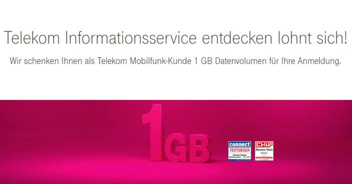Telekom Datenpass gratis