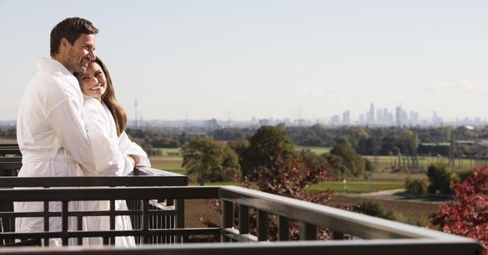 Vital Hotel Frankfurt Balkon