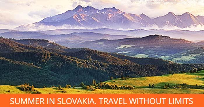 Slowakische Bahn Sommer Ticket