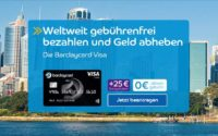 Barclaycard Visa Kreditkarte