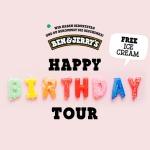 Ben & Jerry's Happy Birthday Tour 2018