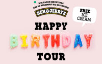 Ben & Jerry's Happy Birthday Tour 2018