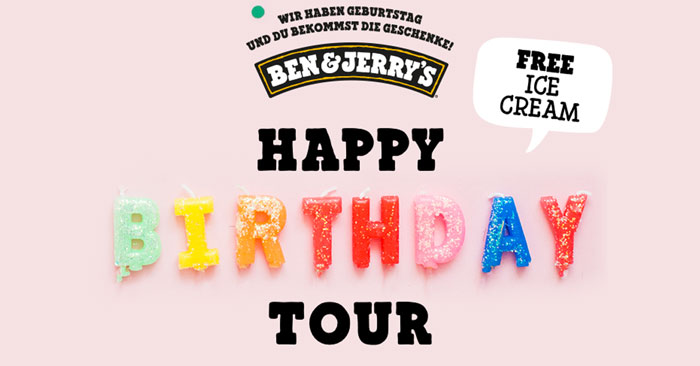 Ben & Jerry's Happy Birthday Tour