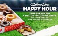 Dunkin Donuts Weltmeister Happy Hour 2018