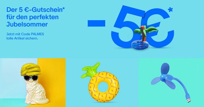 eBay Jubelsommer Gutschein