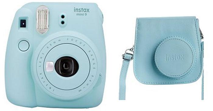 Instax Mini 9 Sofortbildkamera + Tasche